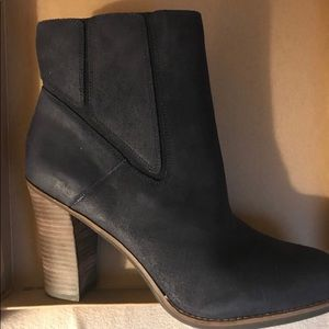 Lucky Brand Moroccan Blue bootie